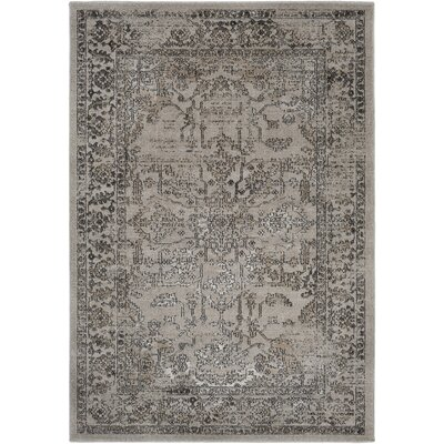 Cassian Khaki/Taupe Area Rug Rug Size: Rectangle 2' x 3'