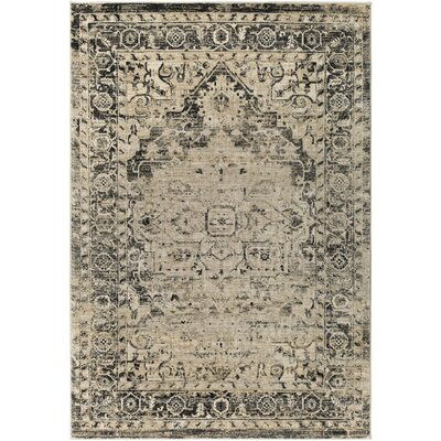 Herring Dark Blue/Burnt Orange Area Rug Rug Size: 53 x 76