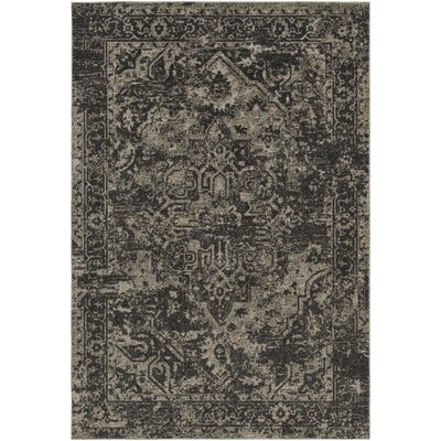 Dalton Black/Khaki Indoor/Outdoor Area Rug Rug Size: 2 x 3