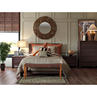 Fierro Platform Bed Size: California King