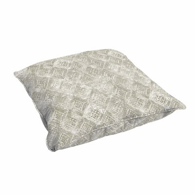 Caterina Indoor/Outdoor Geometric Floor Pillow