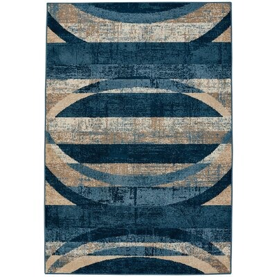 Torre Indigo Indoor/Outdoor Area Rug Rug Size: 310 x 55