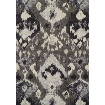 LaKendra Pewter Area Rug Rug Size: Rectangle 33 x 53