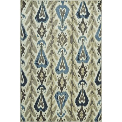 Callen Ivory Area Rug Rug Size: Rectangle 411 x 75