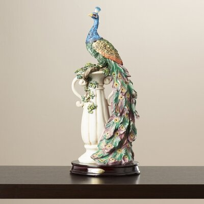The Peacock's Sanctuary Figurine WLDM1912 37190891