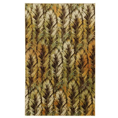 Damarion Black/Yellow Area Rug Rug Size: 76 x 10