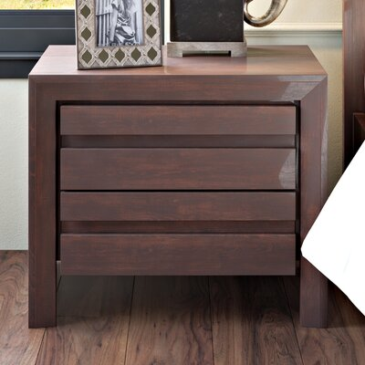 Fierro 2 Drawer Nightstand