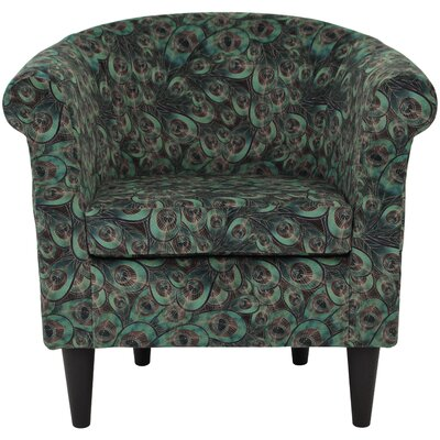 Ronda Animal Print Barrel Chair