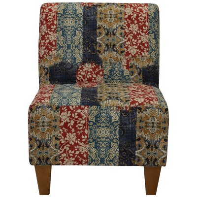 Damion Armless Slipper Chair Upholstery: Royal