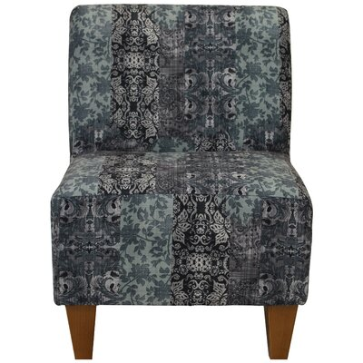Damion Armless Slipper Chair Upholstery: Slate