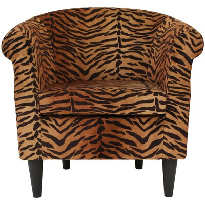Ronda Contemporary Barrel Chair