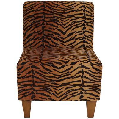 Ronda Traditional Armless Slipper Chair
