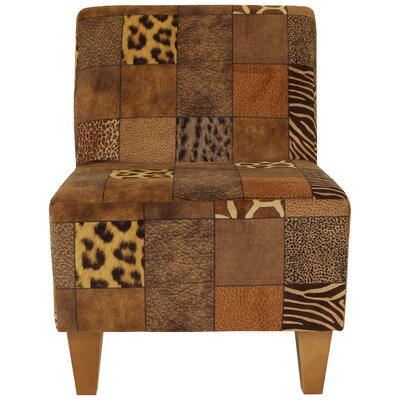 Ronda Modern Armless Slipper Chair