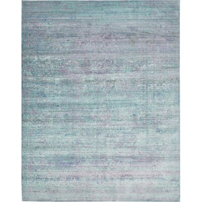 Jihane Green/Purple Area Rug