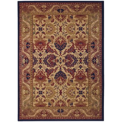 Robenson Tan Area Rug Rug Size: Rectangle 98 x 131