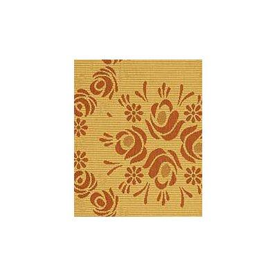 Elisabeth Natural/Terra Outdoor Rug Rug Size: Rectangle 53 x 77