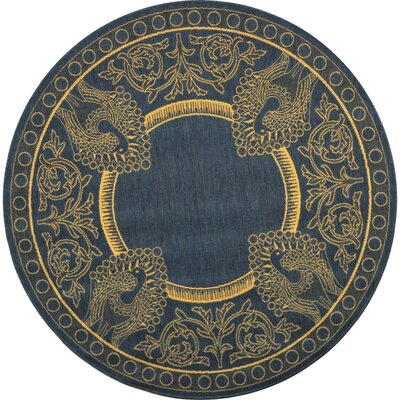 Catori Blue/Natural Rug Rug Size: Rectangle 2 x 37