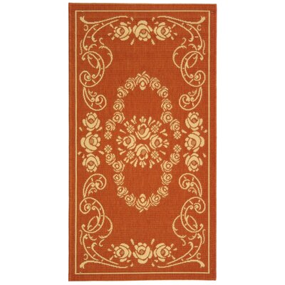 Catori Terra/Natural Outdoor Rug Rug Size: 4 x 57