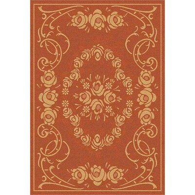 Catori Terra/Natural Outdoor Rug Rug Size: 53 x 77