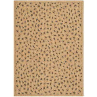 Catori Gold Outdoor Rug Rug Size: 4 x 57