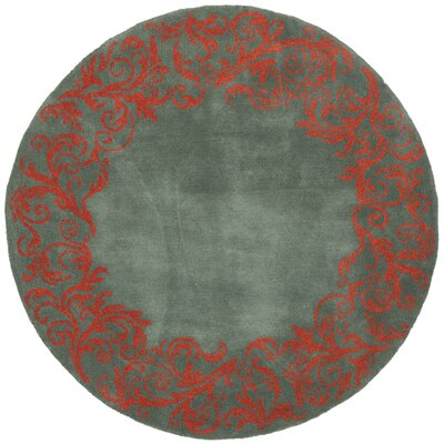 Netea Blue/Coral Area Rug Rug Size: Rectangle 4 x 6