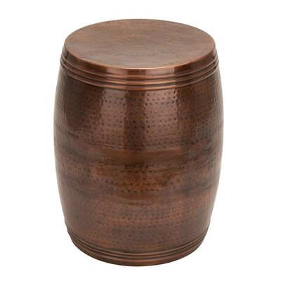 Terrance End Table Finish: Bronze