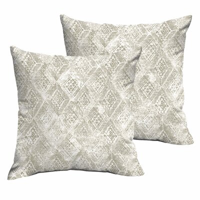 Caterina Indoor/Outdoor Throw Pillow Size: 18 H x 18 W x 6 D