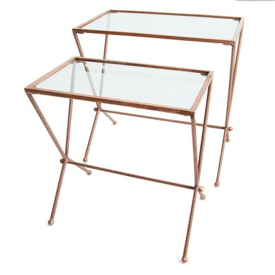 Jasiah 2 Piece Nesting Tables