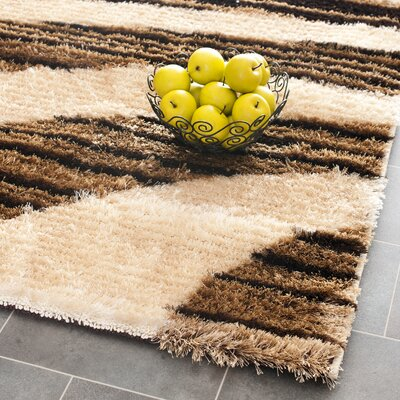 Illinois Beige Rug Rug Size: Rectangle 53 x 76