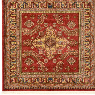 Valley Red Area Rug Rug Size: Rectangle 8 x 11