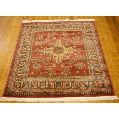 Jaida Red Indoor Area Rug