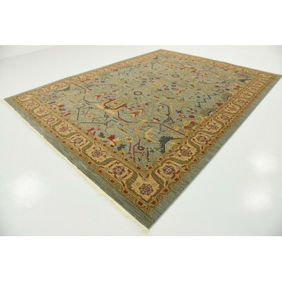 Jaida Light Blue Indoor Area Rug Rug Size: 9 x 12