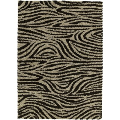 Joann Brown Area Rug Rug Size: 5 x 8