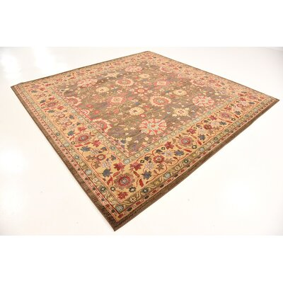 Fonciere Light Brown Area Rug Rug Size: Rectangle 10 x 13