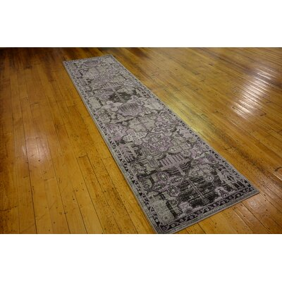Kelaa Purple Area Rug
