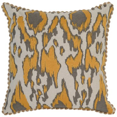 Hosty Throw Pillow Color: Yellow