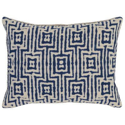 Canala Lumbar Pillow Color: Blue