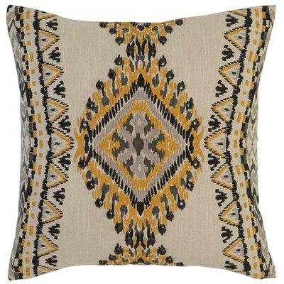 Castlereagh Cotton Throw Pillow Color: Yellow