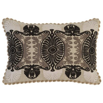 Elida Lumbar Pillow Color: Taupe/Black