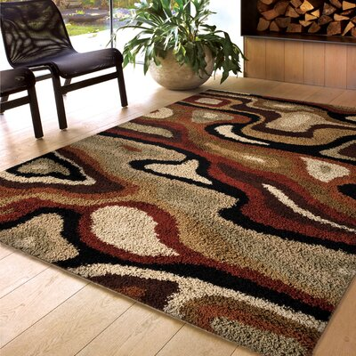 Rosamund Beige/Brown Area Rug
