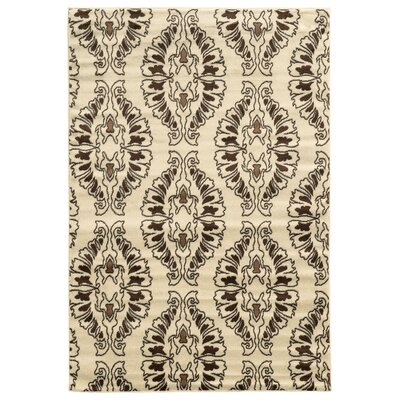 Samantha White Area Rug Rug Size: Rectangle 5 x 7