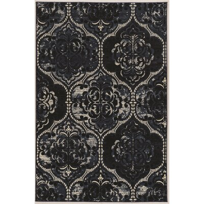 Ateao Blue Area Rug Rug Size: Rectangle 8 x 10
