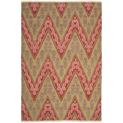Youssef Mauve Pink Area Rug Rug Size: 9 x 12