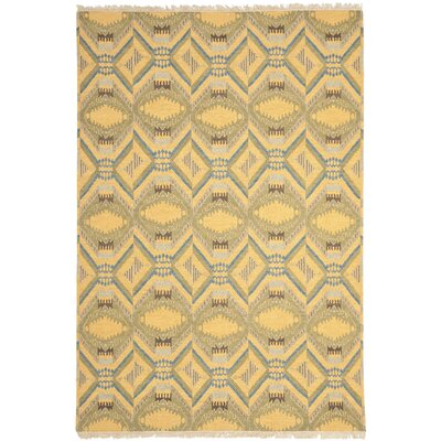 Youssef Saffron Yellow Area Rug Rug Size: 8 x 10