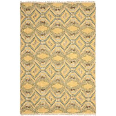 Youssef Saffron Yellow Area Rug Rug Size: 8 x 10