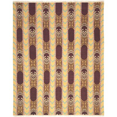 Youssef Root Brown Area Rug Rug Size: 8 x 10