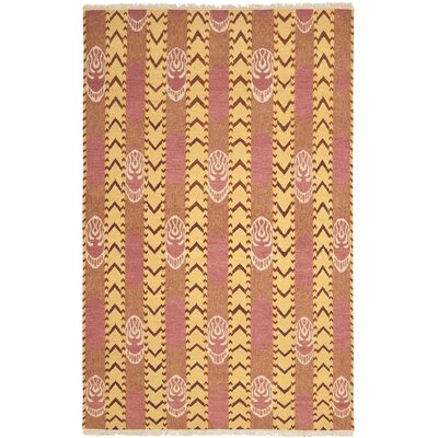 Youssef Pink Amber Area Rug Rug Size: 8 x 10