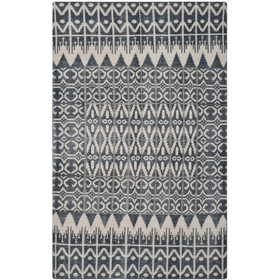 Gretta Charcoal Contemporary Area Rug Rug Size: 8 x 10