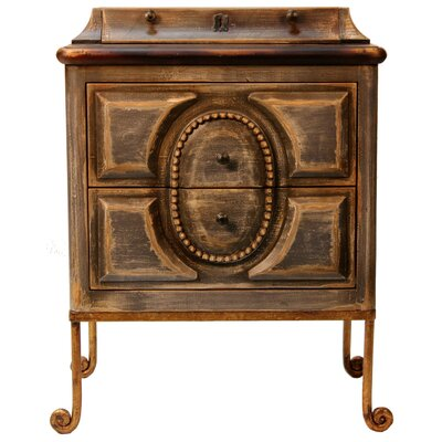 Anita 2 Drawer Nightstand
