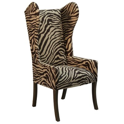 Jamar Arm Chair Body Fabric: Oatmeal Charcoal